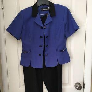 Women's Sag Harbor 6P Short Sleeve Suit